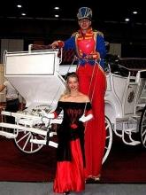 Stelzenläufer Hochzeit