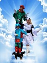 Marionetten Stelzenlaufen
